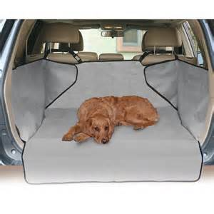 Pet Cargo Liners For Suv Kh Mfg Economy Suv Rear Cargo Liner Cover Pet Bed Gray