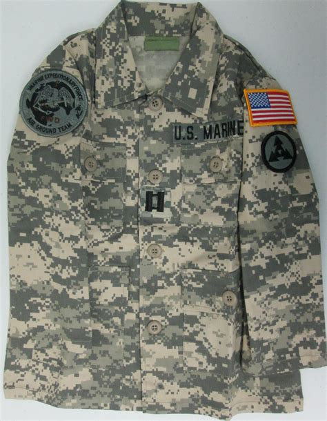 army acu pattern scrubs kids acu digital pattern jacket with marine patches sewn on
