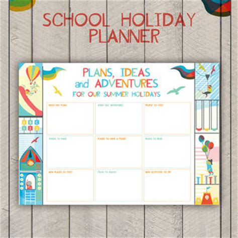 printable school holiday planner summer holiday planner printable kids from sam osborne sam