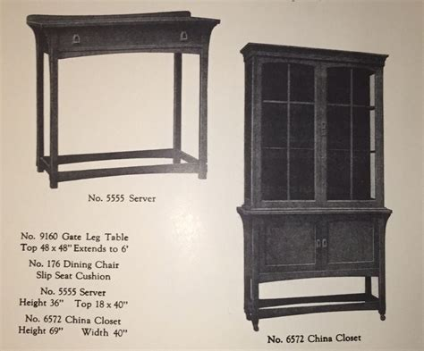 Voorhees Craftsman Mission Oak Furniture   Lifetime Furniture Company 12 piece dining room set