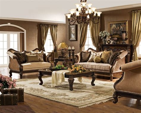 Tuscan Living Room Furniture by Hton Living Room Set Traditional Living Room