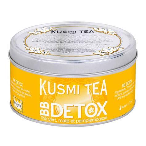 Kusmi Tea Bb Detox by Forme La Beaut 233 224 Boire