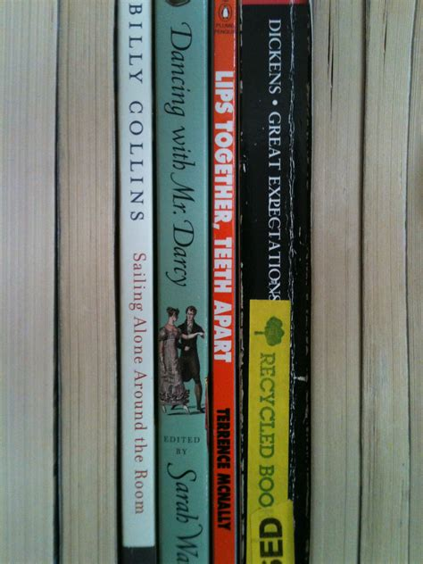 sailing alone around the room poem book spine poetry vol 2 with mr darcy enotes official