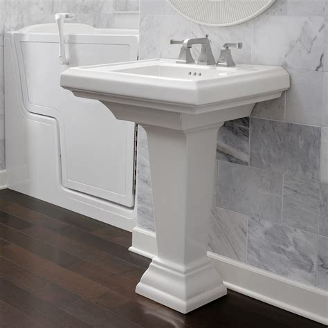 Pedestal For Sink by Town Square 24 Inch Pedestal Sink American Standard