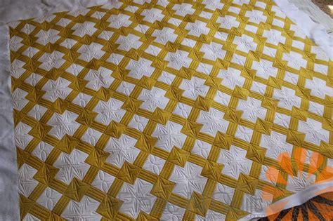 Mustard Yellow Quilt by N Quilt Mustard White Quilt Custom Machine