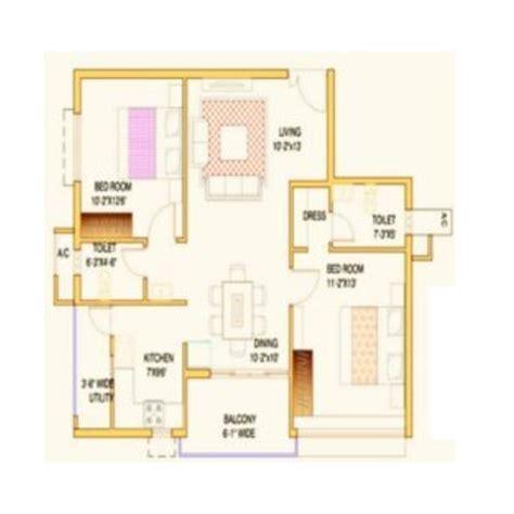 flat layout design pin bhk sle flat on