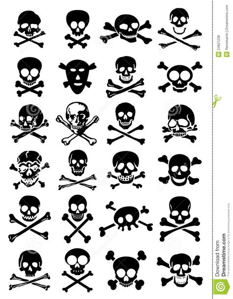 skull and bones tattoo collection of 25 cross bone and skull tattoos