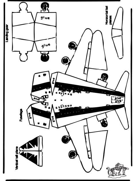 Avions à plier - découpages