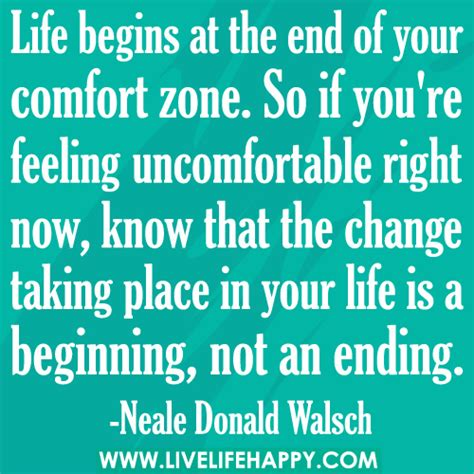 comfort women quotes life begins at the end of your comfort zone so if you re