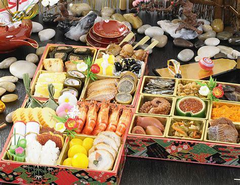new year food box お節料理 osechi ryori japanese traditional new year food in