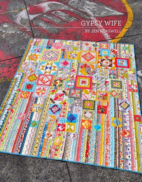 Quilt Pattern Gypsy Wife | jen kingwell designs available patterns by jen kingwell