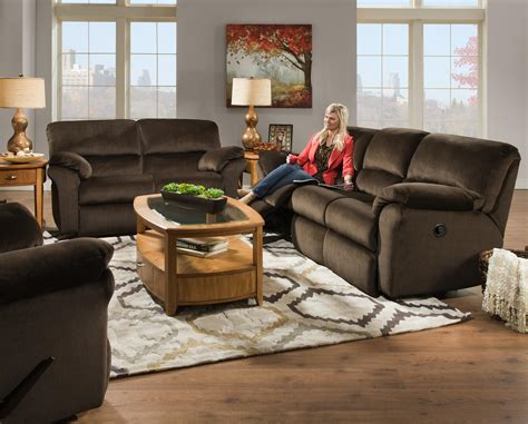 southern motion cloud nine reclining sofa with