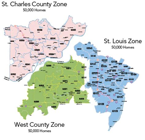 zip code map st louis rsvp st louis postcard package map and mail dates rsvp
