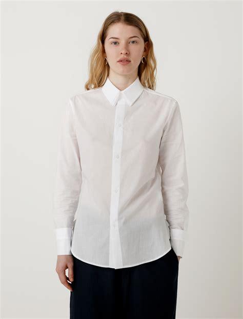 Layered Collar Shirt ys by yohji yamamoto layered collar shirt garmentory