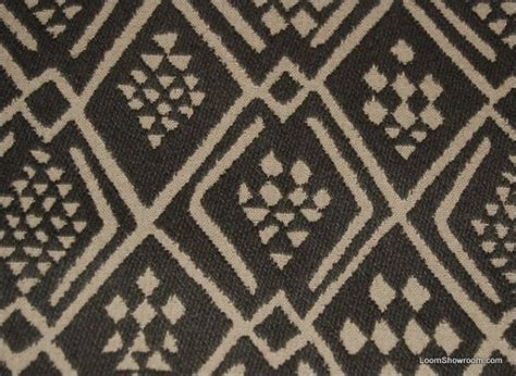 Tribal Upholstery Fabric clarence house himba brown tapestry reversible italy tribal cotton fabric