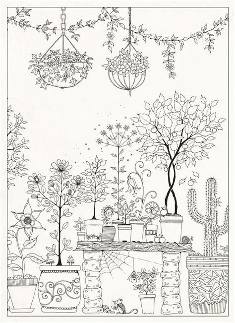 secret garden colouring book guardian 1000 images about kleurplaten on dover