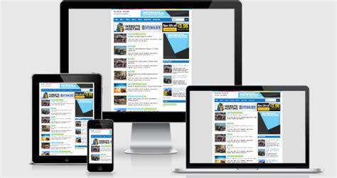 template toko online gratis seo friendly bukablog belajar membuat toko online blog dan website gratis