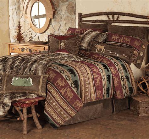 bear bedding sets rocky ridge moose bear bedding collection