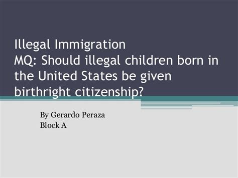 birthright 5 secrets to reclaim the power of you books illegal immigration power point