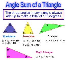 angle sum in a triangle passy s world of mathematics