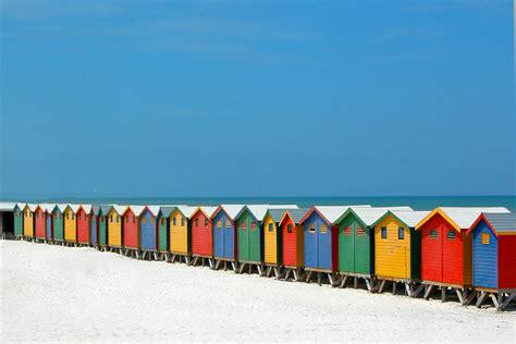 cabine spiaggia muizemberg festival di cabine sulla spiaggia foto