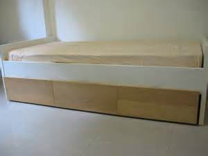 Size Bed Frame For Sale Singapore Ikea Single Size Bed Frame With Storage Drawers For Sale