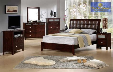 Bedroom Furniture Sale Los Angeles Collection 4 Pc Ca King Sleigh Bedroom Set 10