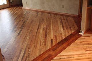 red oak flooring  brazilian cherry border family