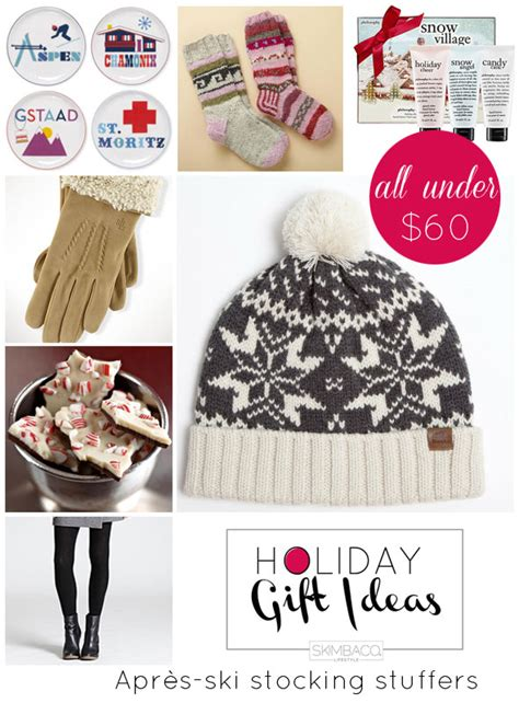 holiday gift guide gifts for snowbunnies under 60 from