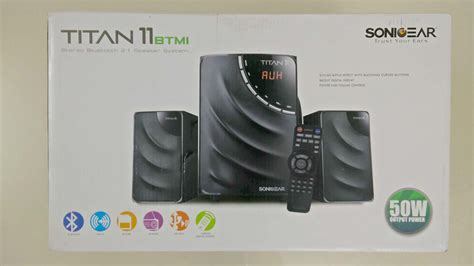 Speaker Sonic Gear Titan 9 sonicgear titan 11 2 1 speaker review and unboxing ayumilove