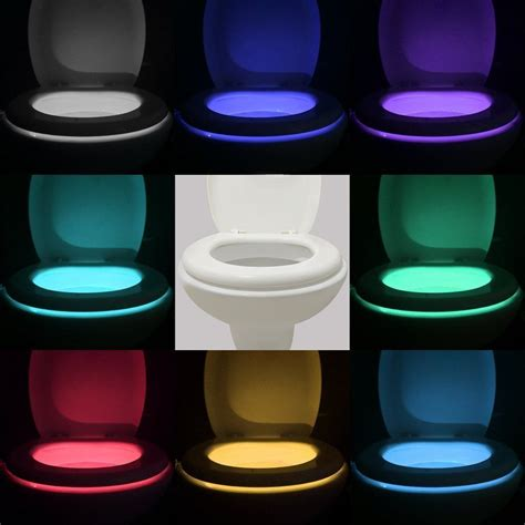 night light for bathroom body sensing motion sensor automatic led night light