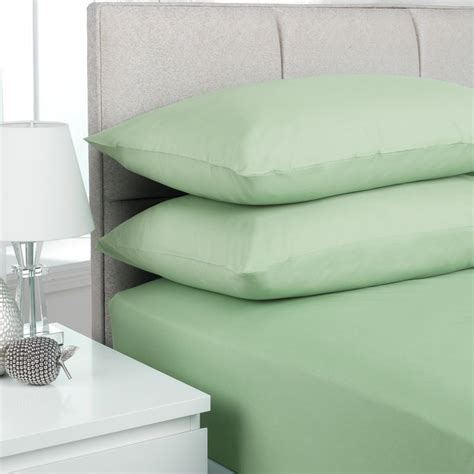 Single Bed Sheets by Plain Dyed Single Bed Flat Sheet Willow Buy At Qd