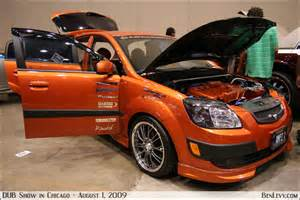 custom orange kia benlevy