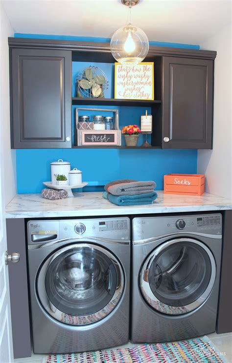 Installing Laundry Room Cabinets The Big Reveal Simple Laundry Room Ideas Fynes Designs Fynes Designs