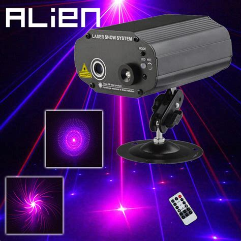 light show for sale blue red laser stage lighting effects home disco dj party