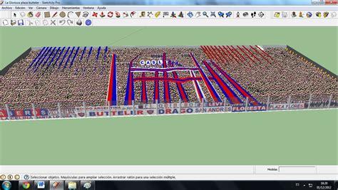 tutorial de google sketchup tutorial como hacer un estadio en google sketchup taringa
