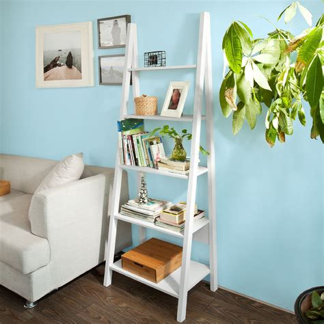 white ladder bookcases white ladder bookcases choozone