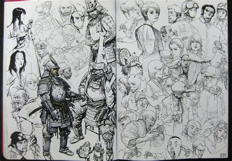 sketchbook jung gi felix ip 蟻速畫行 awesome sketches by jung gi