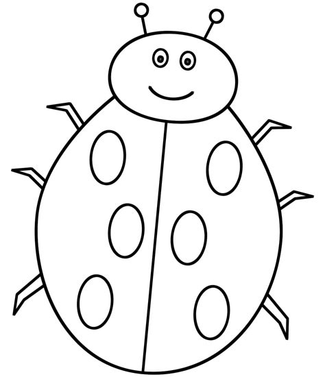 coloring pages of a ladybug ladybug coloring pages to download and print for free