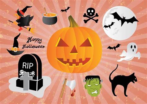 imagenes de halloween animadas gratis dibujos animados de halloween descargar vectores gratis