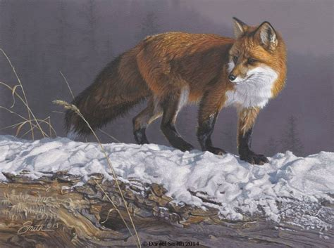 bob ross painting deer rhapsody daniel smith wildlife