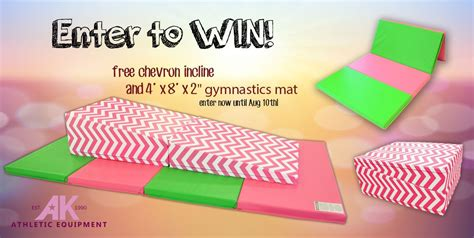 Chevron Incline by Win A Free Chevron Incline Mat With 4 X 8 X 2 Quot Pink And