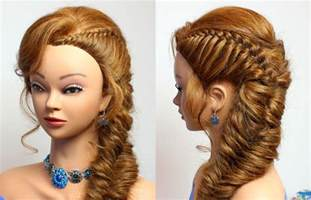 hair style braided hairstyle for long hair for party everyday