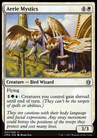 Jenara Set aerie mystics commander anthology