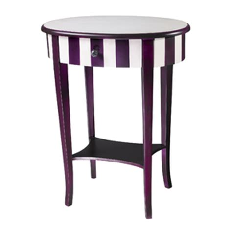 purple accent table colorful accent tables how to bring your living space to