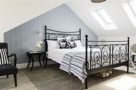 attic converted to bedroom a loft conversion designed with guests in mind bedroom