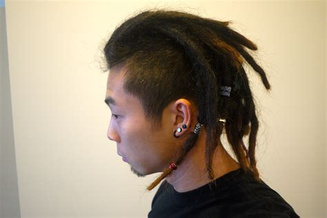 with dreads locs with the sides hairstylegalleries