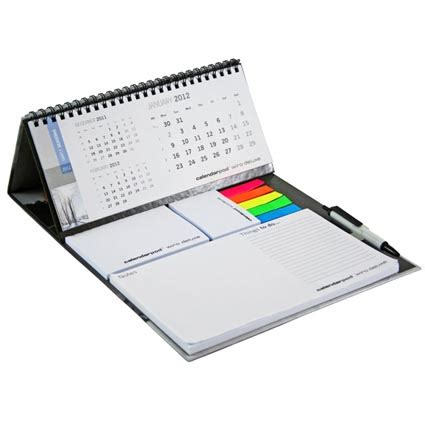 sticky note desk calendar calendar and sticky note set deluxe printed calendars