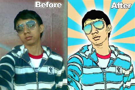 cara membuat foto menjadi kartun sederhana cara edit foto dengan photoshop menjadi kartun