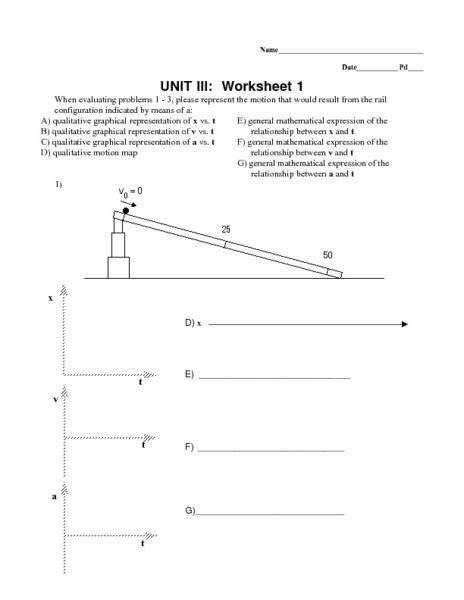 worksheet acceleration worksheet mifirental free
